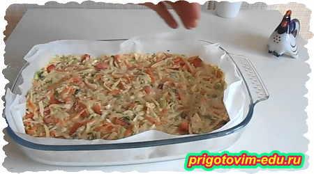 Как приготовить запеканку из кабачка и картофеля 5