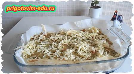 Как приготовить запеканку из кабачка и картофеля 7