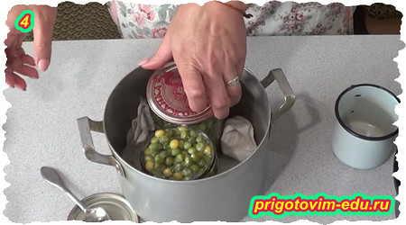 Как законсервировать зеленый горошек на зиму дома 4