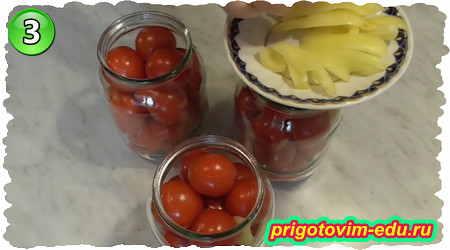 Как замариновать сладкие помидоры на зиму