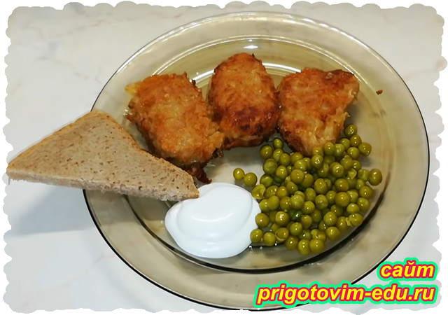 Котлеты картофельные с капустой постные