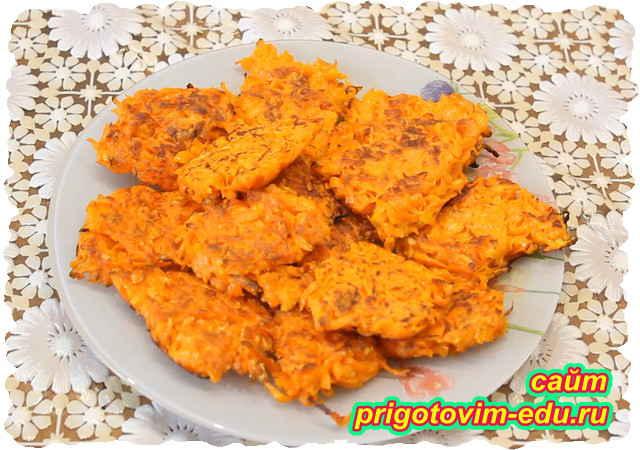 Морковные котлеты рецепт с манкой