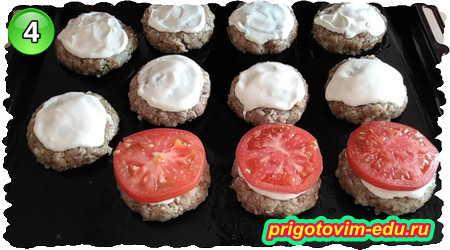 Как приготовить гречаники с фаршем в духовке под сыром