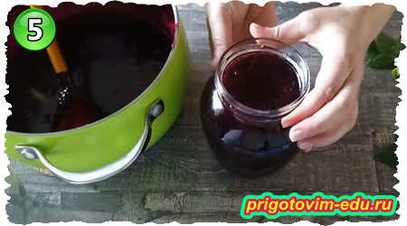 Как сварить джем из черной смородины пятиминутка