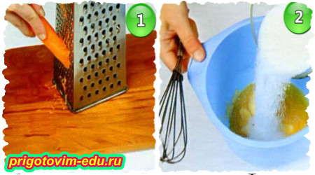 Рецепт приготовления морковного торта