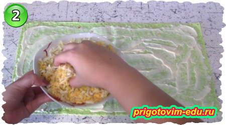 Как приготовить рулет из лаваша с рыбными консервами