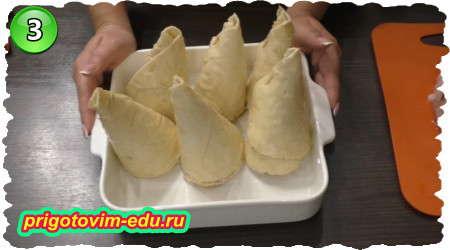 Как приготовить закуску из лаваша с грибами и курицей
