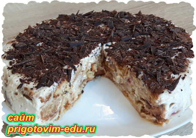Торт без выпечки из пряников