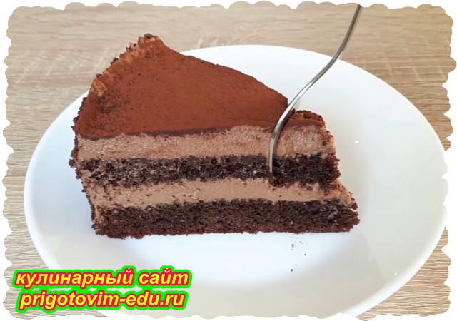 Трюфельный шоколадный торт. Видео рецепт