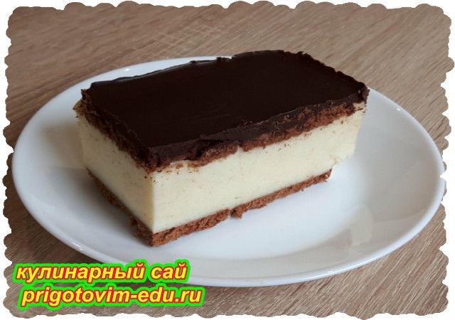 Торт птичье молоко без выпечки. Видео рецепт