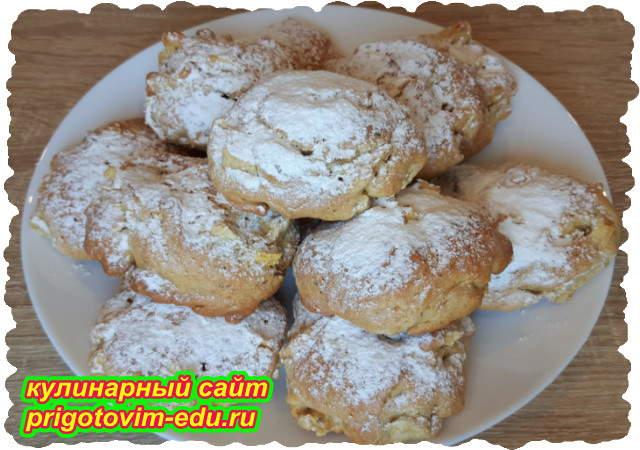 Итальянское яблочное печенье