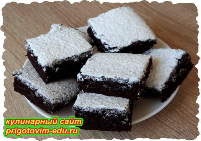 Постный шоколадный пирог. Видео рецепт
