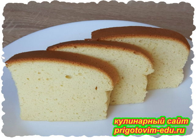 Японский бисквит Кастелла. Видео рецепт