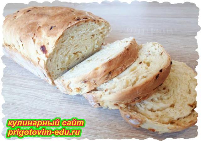 Луковый хлеб в духовке. Видео рецепт