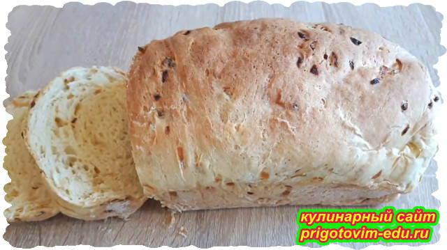 домашний луковый хлеб