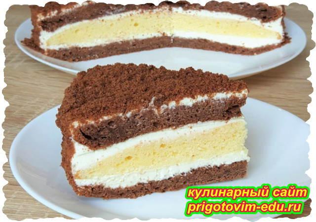 Торт сметанник. Классический видео рецепт