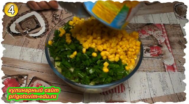 Как приготовить салат из крабовых палочек