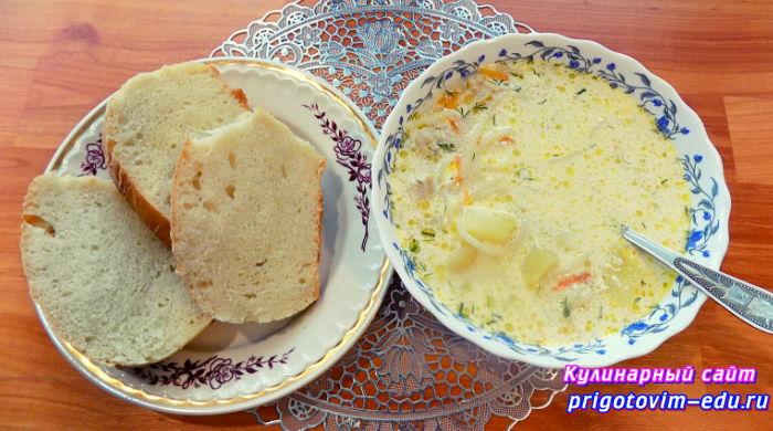 куриного супа с лапшой