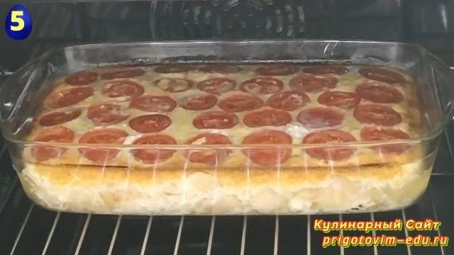 Как приготовить сырную запеканку в духовке 5