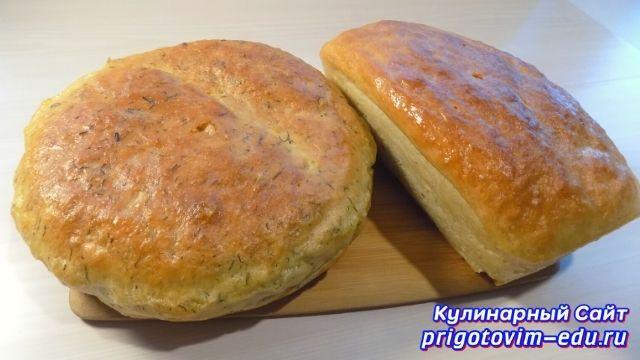 хлеб на дрожжевом тесте