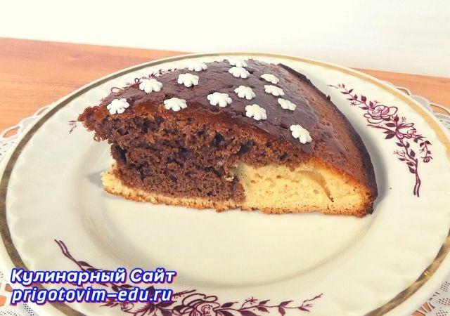 Вкусный пирог к чаю. Простой видео рецепт