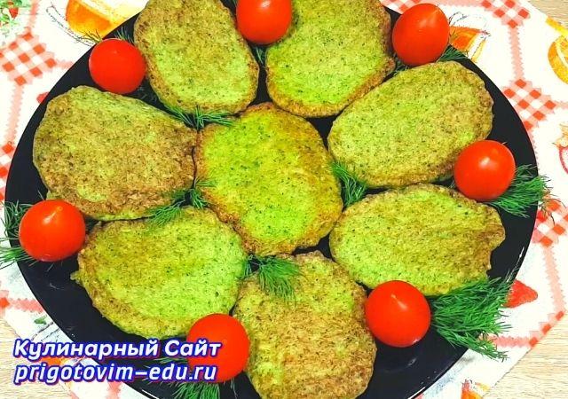 Капустные котлеты из брокколи. Полезные овощные котлеты