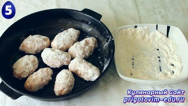 Как приготовить котлеты с сыром в духовке 5