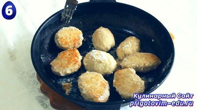 Как приготовить котлеты с сыром в духовке 6