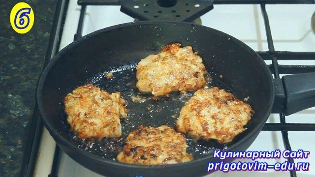 Как приготовить рубленые котлеты из куриного филе 6