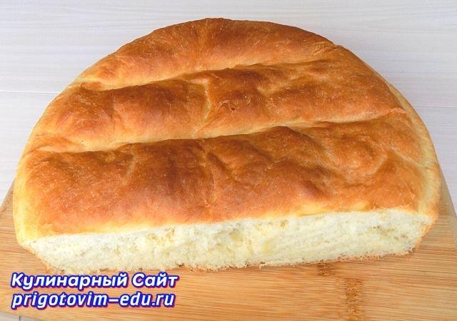 Хлеб на молоке с сухими дрожжами. Видео рецепт