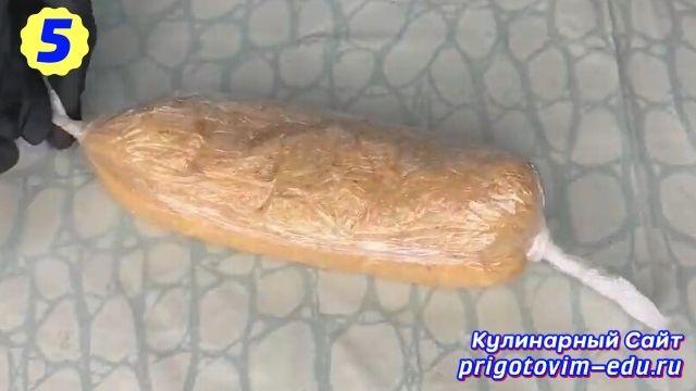 Как сделать домашнюю вареную колбасу 5