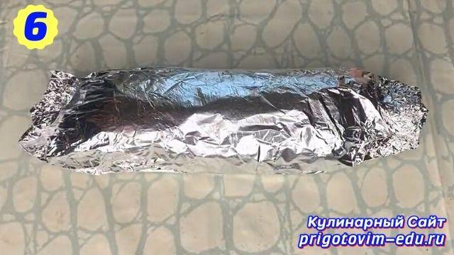 Как сделать домашнюю вареную колбасу 6